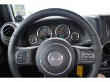 2011 Jeep Wrangler Sport S 4x4 Steering Wheel