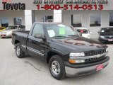 2002 Onyx Black Chevrolet Silverado 1500 Work Truck Regular Cab #58501368