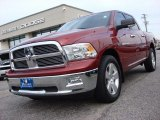 2011 Deep Cherry Red Crystal Pearl Dodge Ram 1500 Big Horn Crew Cab 4x4 #58501341