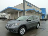 2012 Polished Metal Metallic Honda CR-V EX 4WD #58501818
