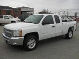 2012 Summit White Chevrolet Silverado 1500 LT Extended Cab 4x4 #58501789
