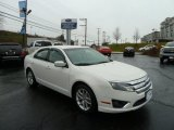 2010 White Suede Ford Fusion SEL #58501479