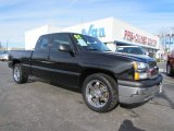 Black Chevrolet Silverado 1500 in 2005