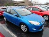 2012 Blue Candy Metallic Ford Focus SE 5-Door #58501473