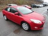 2012 Red Candy Metallic Ford Focus SE Sedan #58501472