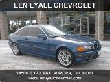 2001 Topaz Blue Metallic BMW 3 Series 330i Coupe #58501451