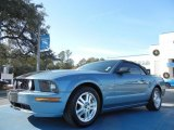 2007 Windveil Blue Metallic Ford Mustang GT Premium Convertible #58501442
