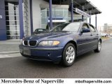 2004 Mystic Blue Metallic BMW 3 Series 325i Sedan #58555823