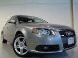 2008 Quartz Grey Metallic Audi A4 2.0T quattro Sedan #5837686