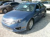 2010 Sport Blue Metallic Ford Fusion SEL #58555802