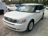 2010 White Suede Ford Flex SEL #58555796