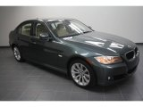 2011 Tasman Green Metallic BMW 3 Series 328i Sedan #58555539