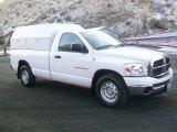 2007 Bright White Dodge Ram 1500 SLT Regular Cab #58555762