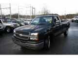 2005 Black Chevrolet Silverado 1500 Regular Cab #5853356