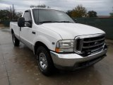 2002 Oxford White Ford F250 Super Duty XLT Regular Cab #58555414