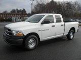 2011 Bright White Dodge Ram 1500 ST Quad Cab 4x4 #58555699