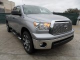 2012 Silver Sky Metallic Toyota Tundra Texas Edition Double Cab #58555410