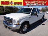 2004 Oxford White Ford F250 Super Duty XLT SuperCab #58555696