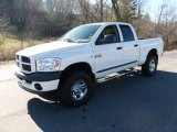 2008 Bright White Dodge Ram 3500 ST Quad Cab 4x4 #58555670