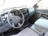 2008 Dodge Ram 3500 ST Quad Cab 4x4 Medium Slate Gray Interior