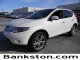 2010 Glacier White Pearl Nissan Murano LE #58555086