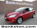2012 Red Candy Metallic Ford Focus SE Sport 5-Door #58555078