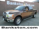 2012 Golden Bronze Metallic Ford F150 Lariat SuperCrew 4x4 #58555077