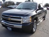 2010 Black Chevrolet Silverado 1500 LS Crew Cab #58555343