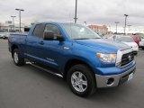 2008 Blue Streak Metallic Toyota Tundra Double Cab 4x4 #58555617