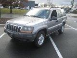 2002 Silverstone Metallic Jeep Grand Cherokee Laredo 4x4 #58608306