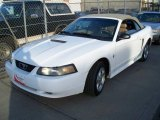 2002 Oxford White Ford Mustang V6 Convertible #5850164