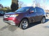 2007 Dark Cherry Red Pearl Acura MDX Sport #58608298