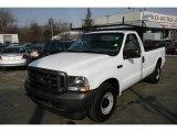 2003 Oxford White Ford F250 Super Duty XL Regular Cab #5853368