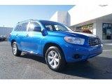 2008 Blue Streak Metallic Toyota Highlander  #58608009