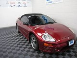 2003 Ultra Red Pearl Mitsubishi Eclipse Spyder GTS #58608275