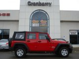 2012 Flame Red Jeep Wrangler Unlimited Sport 4x4 #58607977