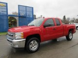 2012 Victory Red Chevrolet Silverado 1500 LT Extended Cab 4x4 #58607956