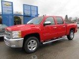 2012 Victory Red Chevrolet Silverado 1500 LT Crew Cab 4x4 #58607953