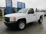 2012 Summit White Chevrolet Silverado 1500 Work Truck Regular Cab 4x4 #58607951