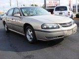 2001 Sandrift Metallic Chevrolet Impala LS #58608481