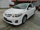 2011 Super White Toyota Corolla S #58607913