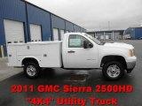 2011 GMC Sierra 2500HD Work Truck Regular Cab 4x4 Commercial Data, Info and Specs