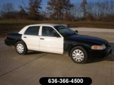 2009 Black/White Ford Crown Victoria Police Interceptor #58608450