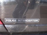 2009 Ford Crown Victoria Police Interceptor Marks and Logos