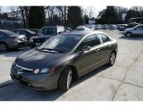 2006 Galaxy Gray Metallic Honda Civic EX Sedan #5840257