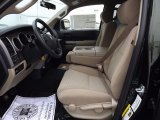 2012 Toyota Tundra TSS Double Cab 4x4 Sand Beige Interior