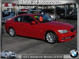 2011 Crimson Red BMW 3 Series 328i Coupe #58608107
