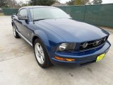 2007 Vista Blue Metallic Ford Mustang V6 Premium Coupe #58608097