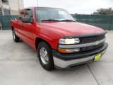 2000 Victory Red Chevrolet Silverado 1500 Extended Cab #58608094