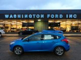 2012 Blue Candy Metallic Ford Focus SE Sport 5-Door #58664323